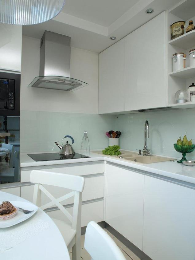 Biale meble w kuchni