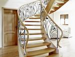 Klasyczne schody gięte ST470 TRĄBCZYŃSKI - zdjęcie 1