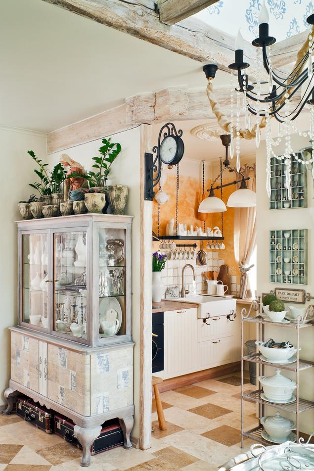 Zobacz galerię zdjęć Kuchnia w stylu retro Pomysł na   -> Kuchnia W Stylu Retro Dodatki