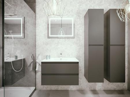 Nowoczesne meble łazienkowe GUADIX DEFRA