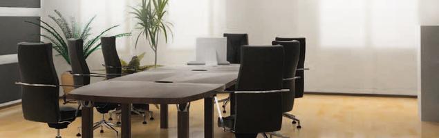 Jak ocieplić wnętrze biura? Aranżacja sali konferencyjnej