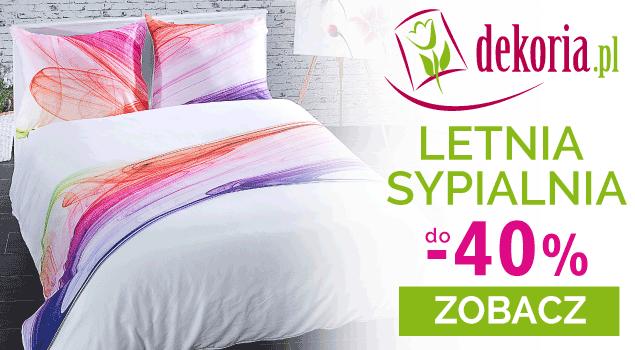 Letnia sypialnia do -40% w Dekoria.pl