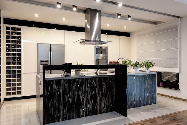 Zobacz galerię zdjęć Nowoczesna kuchnia z jadalnią w eleganckim wydaniu  Str   -> Nowoczesna Kuchnia Polączona Z Jadalnią