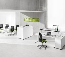 Nowy Styl BNOS SQart. Ergonomiczne meble biurowe. Estetyczna aranżacja biura