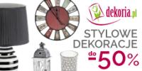 Stylowe dekoracje domu do -50%