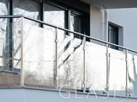 Balustrady ze szkła