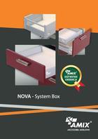 Akcesoria meblowe System Box NOWA AMIX