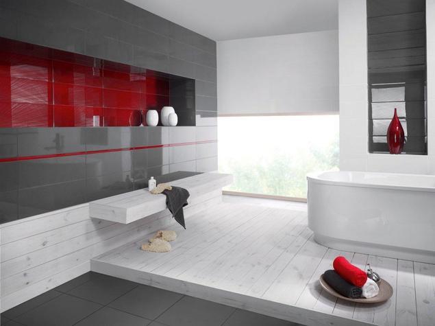 Zobacz galerię zdjęć Nowoczesna wersja stylistyki wschodu w aranżacji łazienki  Stronywnętrza.pl